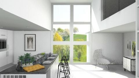 W - Modern - Kitchen  - by amandafern