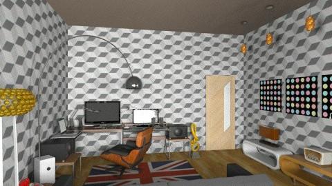 studio dj room00123 - Eclectic - Office  - by deedy saleh