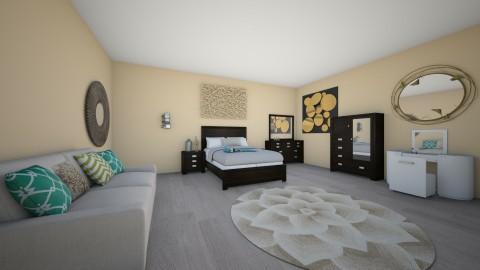 Bedroom 3 - Classic - Bedroom - by Kaitlyn Z