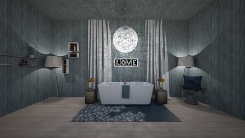Night In The Bathroom - Bedroom  - by JF the roomstyler