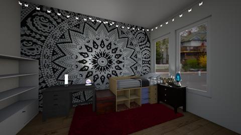 future dorm - Bedroom - by BeckAsHeck