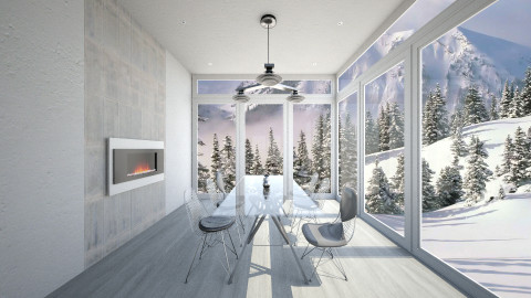 Forest View - Dining room  - by cath09