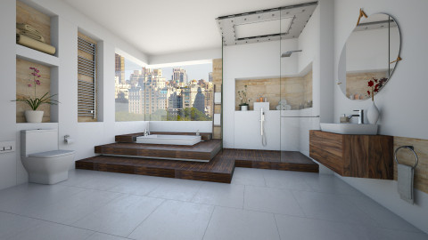 Virtual Bathroom - Modern - Bathroom  - by maja97