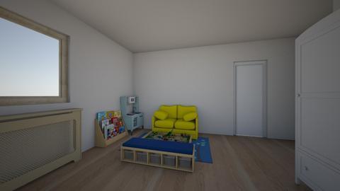 kids room playside front2 - Kids room  - by natachacallens