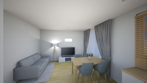 Swiatlo 1a - Living room - by KatarzynaLaszczyk