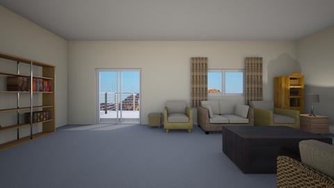 LA Room - Living room  - by WestVirginiaRebel