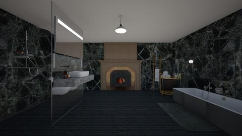 Old Green Marble Style - Classic - Bathroom  - by Bear3