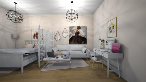 Jacqueline - Glamour - Bedroom  - by annatyler08