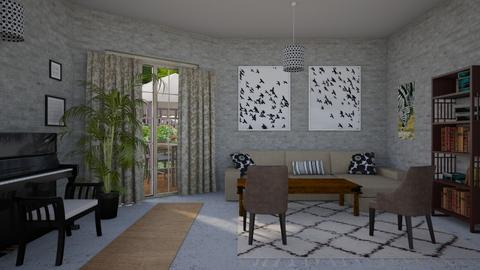 Contest - Country - Living room  - by steker2344