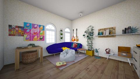 groovy - Retro - Living room  - by 439846