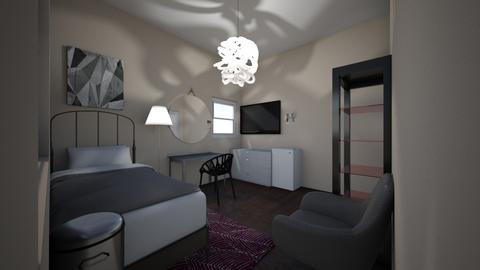 My bedroom - Retro - Bedroom  - by Carleybee
