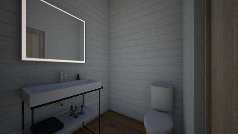 Hall bath - Bathroom  - by smp12