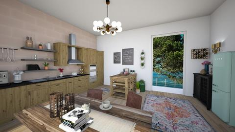 eclectic kitchen - Eclectic - Kitchen - by td123