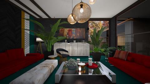 Holy living room - Living room  - by rechnaya