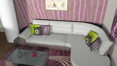 family room - Glamour - Living room  - by sally89