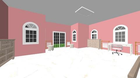 habitaciones 1 - Glamour - Bedroom - by esmenette145