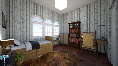 my rustic room - Bedroom - by zoogirl43