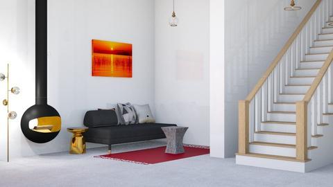 living room - Rustic - Living room  - by malithu damsath