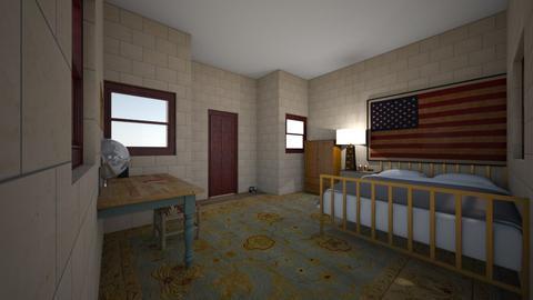 Farm bedroom - Bedroom - by MinieMouse