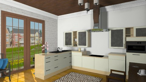 Chic Dining - Eclectic - Kitchen  - by Yoshi Yogataga