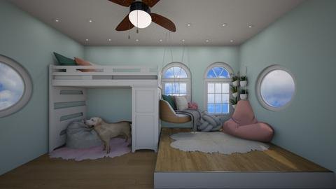 Cute Cozy Small Bedroom  - by Nini_DRW_10