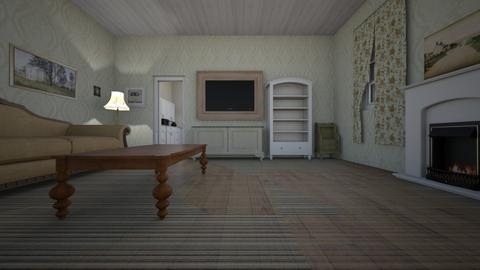 Country Home LR - Living room  - by mspence03