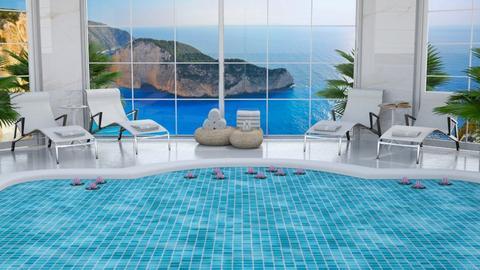 Fancy Hotel Pool - by MyDesignIdeas