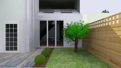 ECO ALDEA fachada - Glamour - Garden  - by domuseinterior