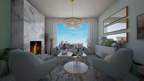 blurry living  2 - Living room  - by Njabulo Mtungwa