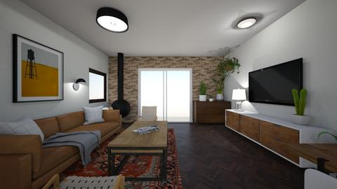 Limor Weissbard 29 - Living room  - by erlichroni