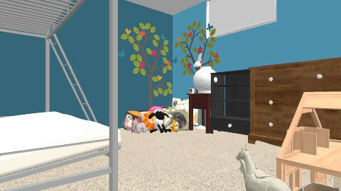 New, Redone Room - Country - Bedroom  - by Historica