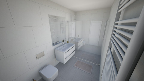 juustyna lazienka 2 - Minimal - Bathroom - by juustyna