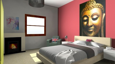 Relaxation Room - Bedroom - by Thomas Meredith