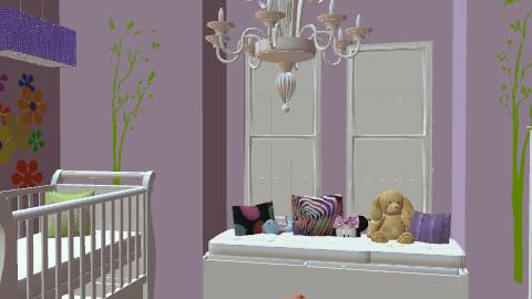 Baby Room E - Modern - Kids room  - by LindseyBelleDanielle