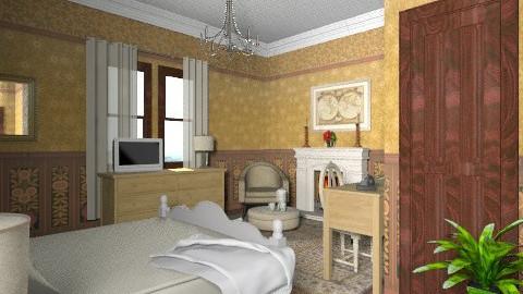 The Ambassadors Bedroom - Classic - Bedroom  - by auntiehelen