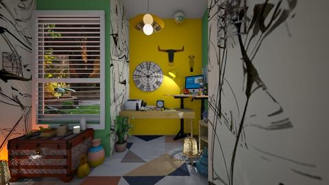 eclectic - Eclectic - Office  - by hello hi hello