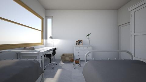 RoomCyM - Minimal - Bedroom - by MarMol