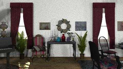 jeffrey - Vintage - Living room  - by jeffs design