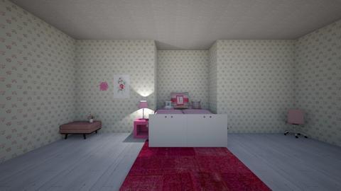 Pink Panda - Kids room  - by matildabeast