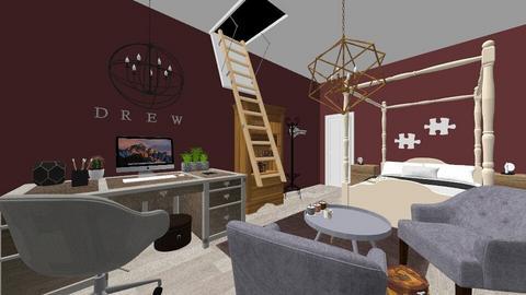 Drews Hideaway  - Minimal - Bedroom - by CMCSmith