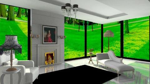 Aurora  - Vintage - Living room  - by yourjieee