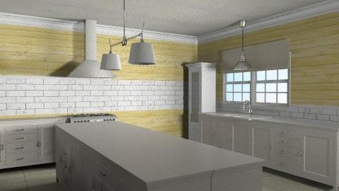 Kitchen - Eclectic - Kitchen  - by hopie