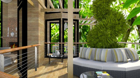 TreeHOUSE - Modern - Garden  - by channing4
