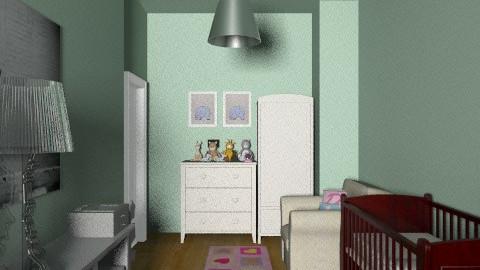 dorota12 - Classic - Kids room  - by dorotapomiankiewicz