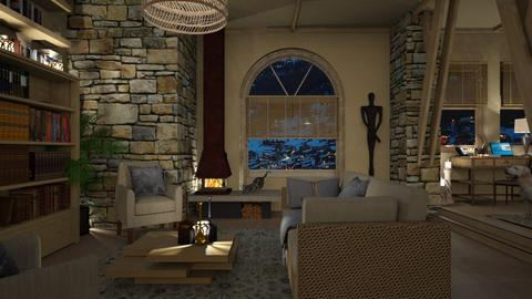 Design 486 Warm and Cozy - Living room  - by Daisy320