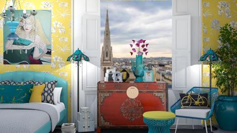Eclectic Bedroom - Eclectic - Bedroom  - by jjp513