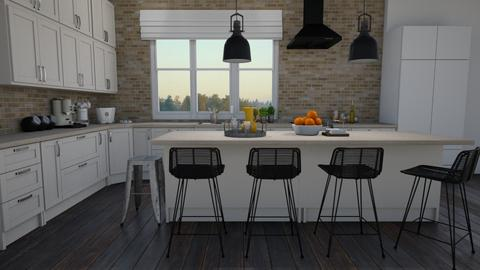 Large island - Kitchen  - by Thrud45