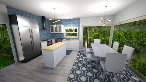 keuken nieuw - Dining room - by PenAndPaper