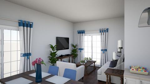 Blue home - Classic - Living room - by melanie99