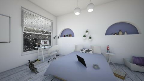 Purple Living - Bedroom - by Design_CG
